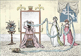 Upper-class women in the Regency were expected to turn a blind eye to husbands who dallied outside marriage. Once a wife produced an heir however, she, too, could take a lover.