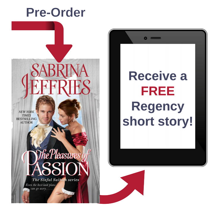 Pre-order THE PLEASURES OF PASSION and get a free short story